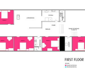 Casa Amarilla First Floor