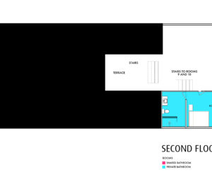 Casa Amarilla Second Floor